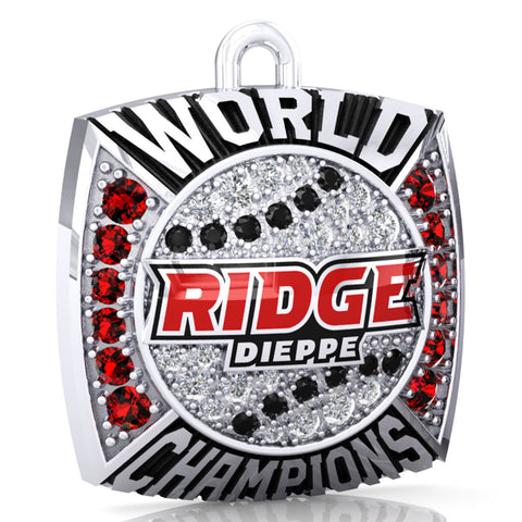 Dieppe Ridge Men's Fastball Ring Top Pendant