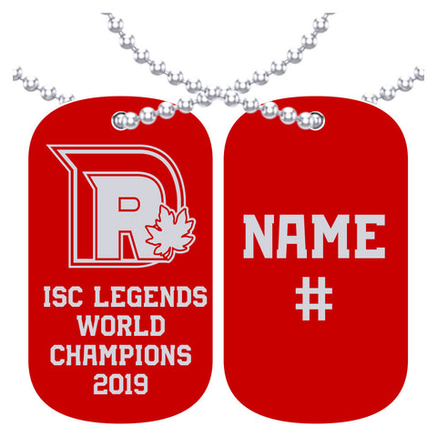 Dieppe Ridge Men's Fastball Dog Tag