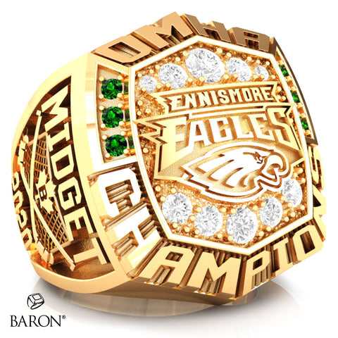 Ennismore Eagles Championship Ring - Design 5.8