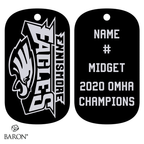 Ennismore Eagles Dog Tags