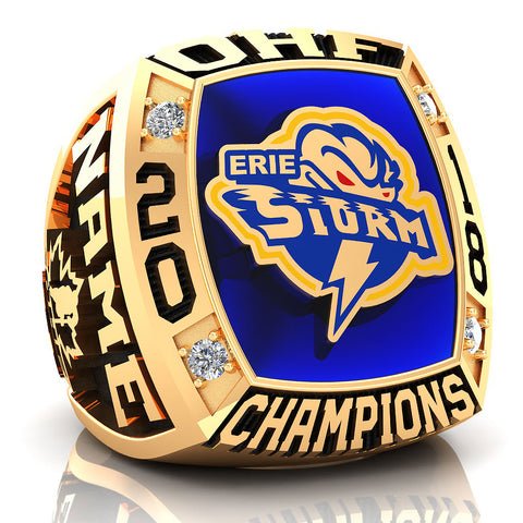 Erie North Shore - PeeWee A Ring - Design 1.10 - COACH'S/PARENTS