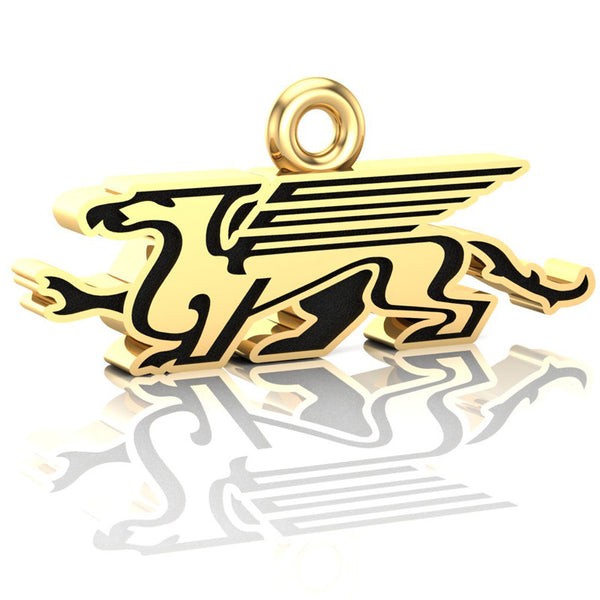 Guelph Gryphons - 2015 Yates Cup Champions - Logo Pendant