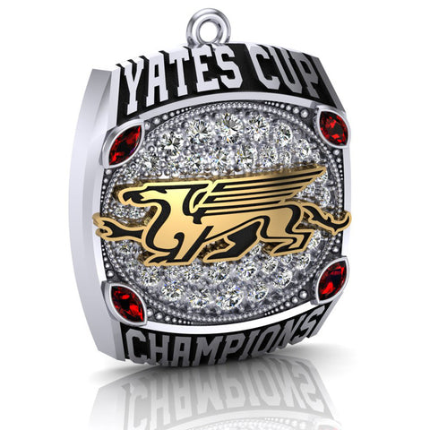 Guelph Gryphons - 2015 Yates Cup Champions - Fan Pendant