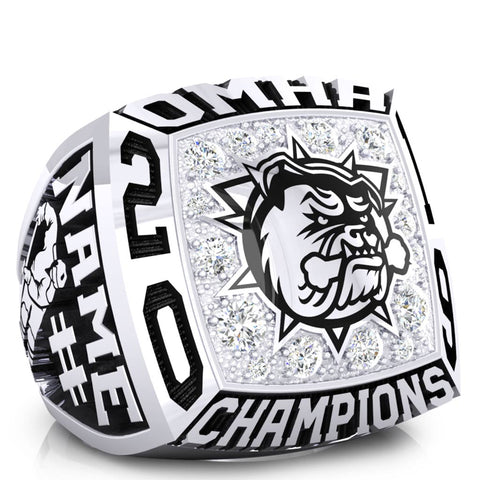 Hamilton Jr Bulldogs minor Bantam AAA Ring -Design 1.1