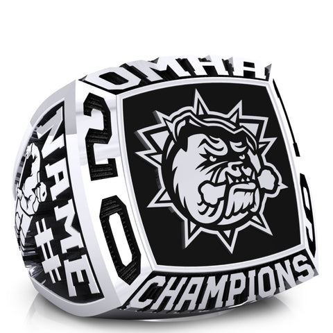 Hamilton Jr Bulldogs minor Bantam AAA Ring -Design 1.2
