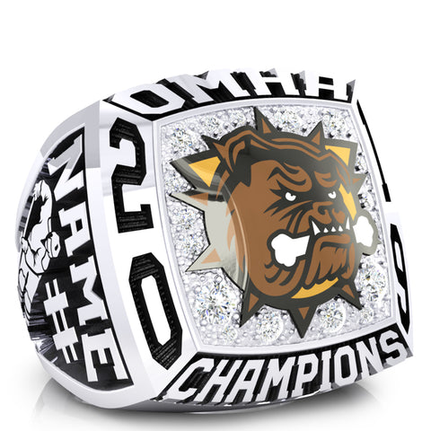 Hamilton Jr Bulldogs minor Bantam AAA Ring -Design 1.3