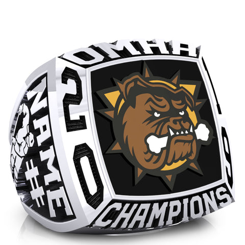 Hamilton Jr Bulldogs minor Bantam AAA Ring -Design 1.4