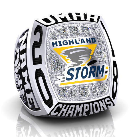 Highland Storm Midget CC Ring - Design 1