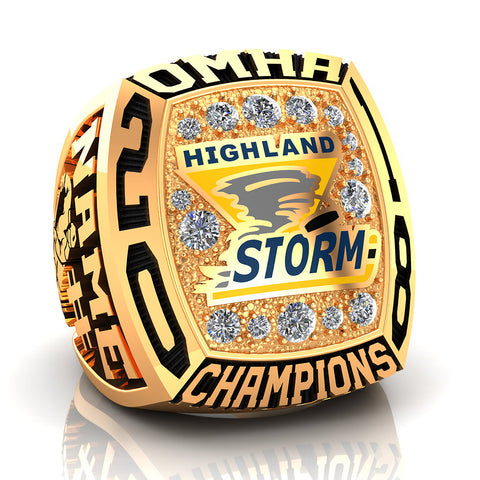 Highland Storm Midget CC Ring - Design 2