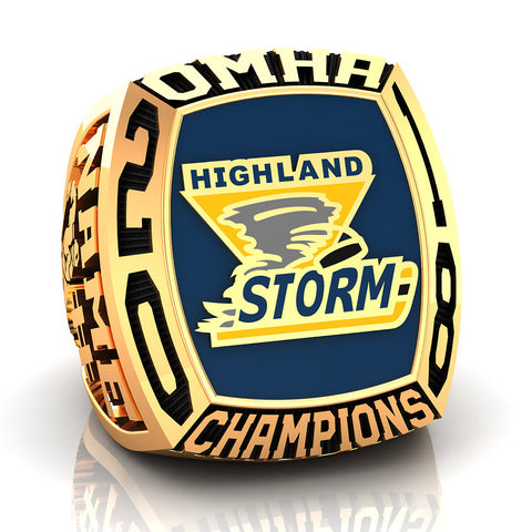 Highland Storm Midget CC Ring - Design 3