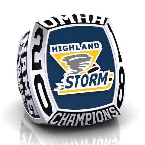Highland Storm Midget CC Ring - Design 4
