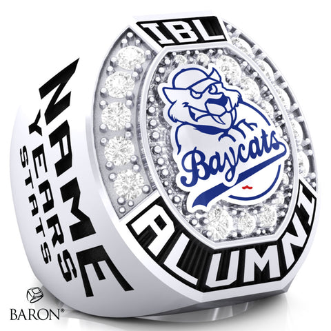 IBL Alumni - Barrie Baycats Championship Ring - Design 1.8