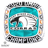 Kent Minor Hockey Cobras Championship Ring - Design 1.6