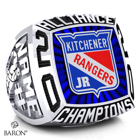 Kitchener Jr. Rangers Championship Ring - Design 1.4
