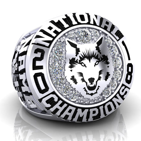 Lakehead University Thunderwolves Ring - Design 1
