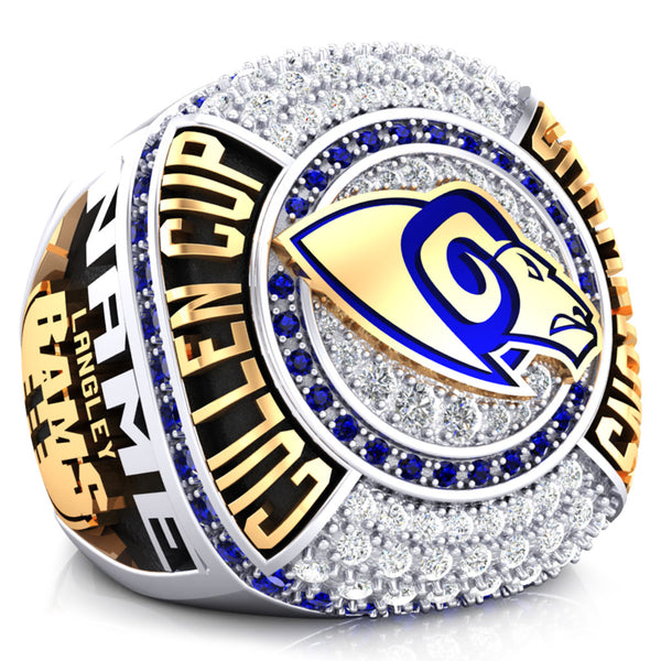 Langley Rams Championship Ring - Design 2.4 (Taxes not included)