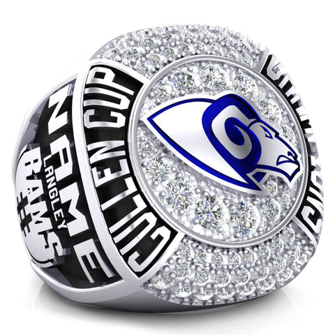 Langley Rams Championship Ring - Design 3.2 * BALANCE (Taxes not included)