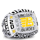 Lincoln Blades Minor Midget - OMHA Ring - Design 1.6