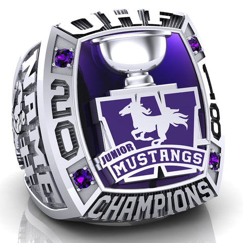 London Jr. Mustangs - OHF Ring - Design 1.3
