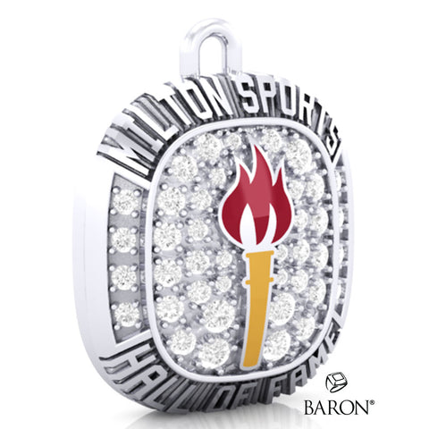 Milton Sports Hall of Fame Pendant - Design 2.7