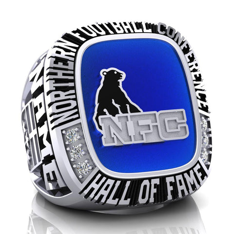 NFC Hall of Fame Defunct Team Ring (Enamel)