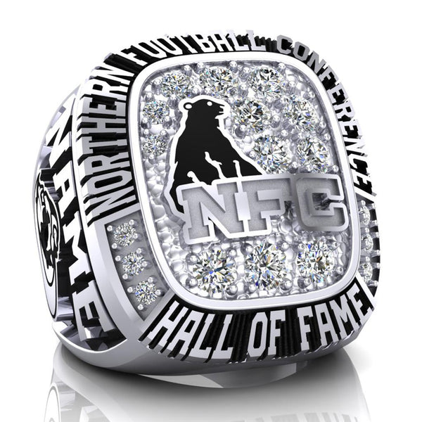 NFC Hall of Fame North Bay BullDogs Ring (Champs ice)