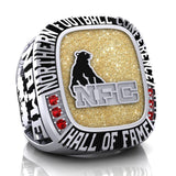 NFC Hall of Fame Sarnia Imperials Ring (Gold Metallic Enamel)