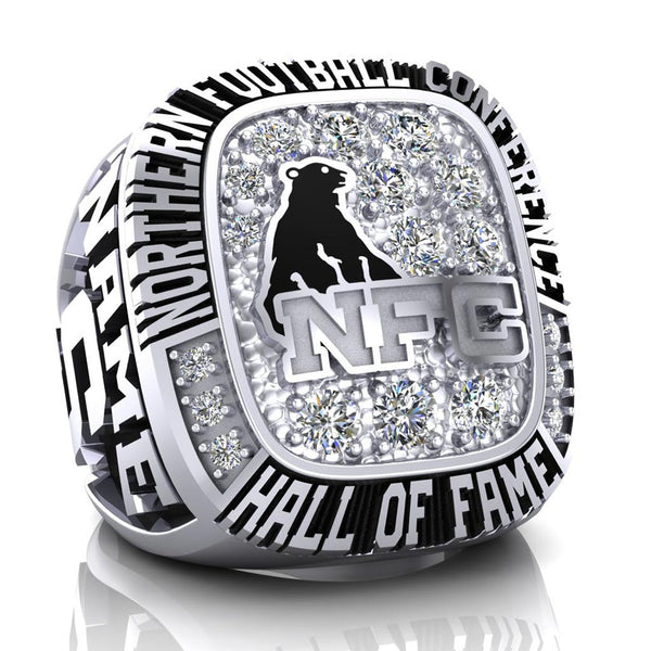 NFC Hall of Fame Sault Steelers Ring (Champs ice)