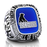 NFC Hall of Fame Sault Steelers Ring (Enamel)