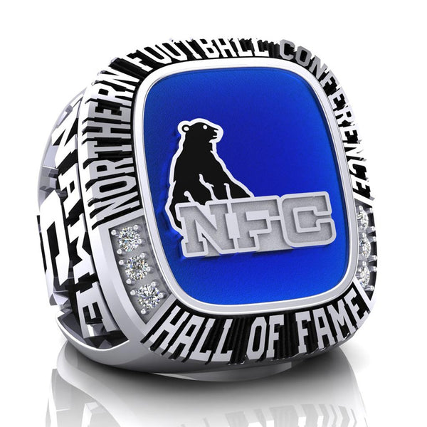 NFC Hall of Fame Sault Steelers Ring