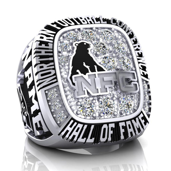 NFC Hall of Fame Steel City Patriots Ring (Champs Ice)