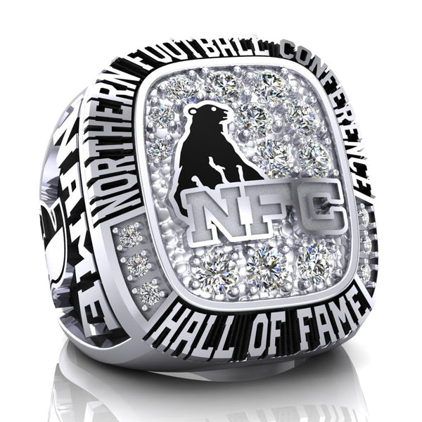 NFC Hall of Fame Sudbury Spartans Ring (Champs Ice)