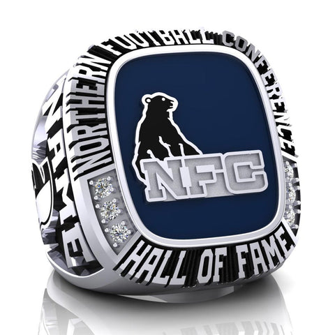 NFC Hall of Fame Sudbury Spartans Ring (Enamel)