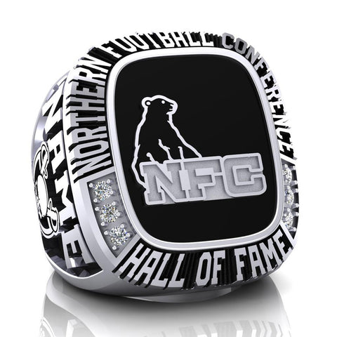 NFC Hall of Fame Toronto Raiders Ring (Enamel)
