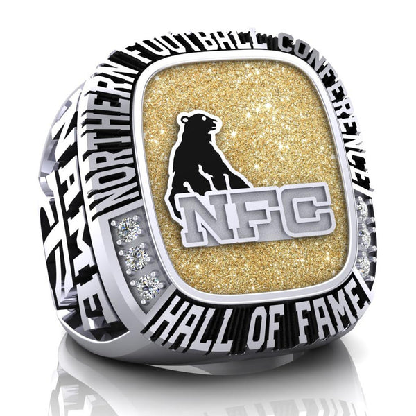 NFC Hall of Fame Tri-City Outlaws Ring