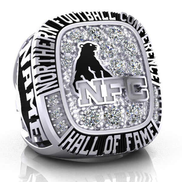 NFC Hall of Fame Oakville Longhorns Ring (Champs Ice)