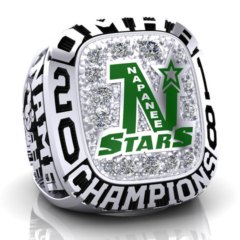 Napanee Stars Ring - Design 1