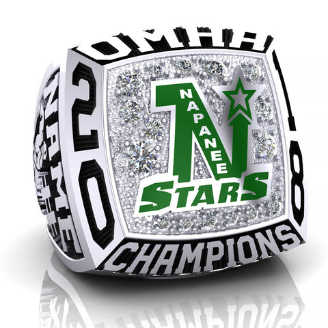 Napanee Stars Ring - Design 2