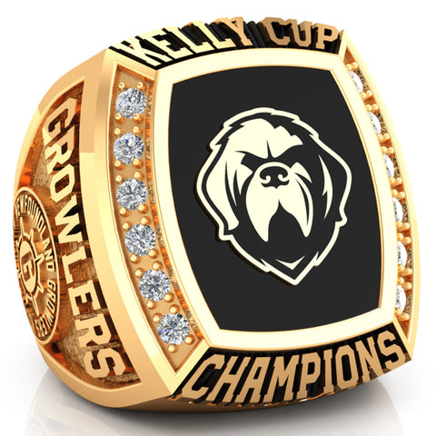 Newfoundland Growlers - Championship Fan Ring - Design 5.4