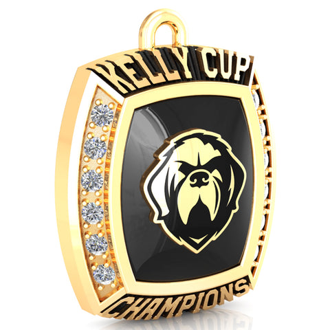 Newfoundland Growlers - Premium Championship Fan Pendant (with Custom Stone)