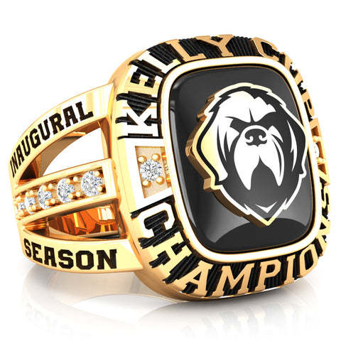Newfoundland Growlers - Premium Championship Fan Renown Ring (with Custom Stone) - Design 1.2