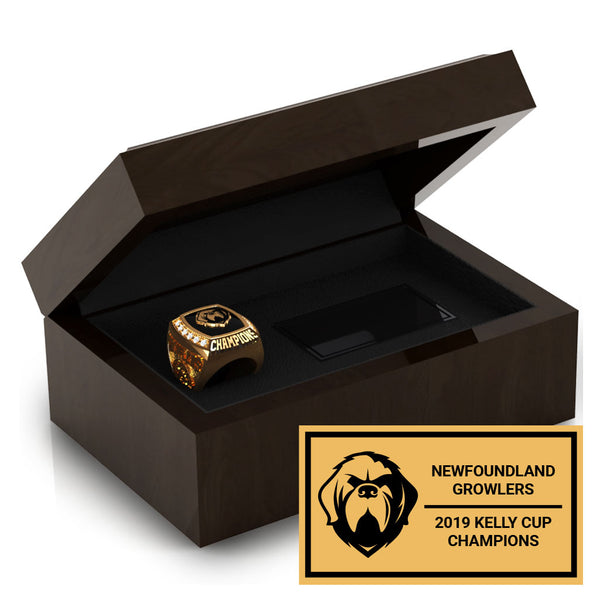Newfoundland Growlers - Ring Box
