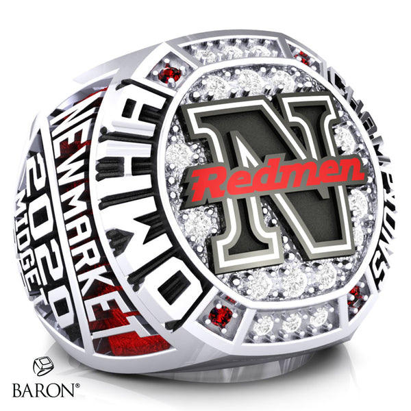 Newmarket Redmen Championship Ring - Design 1.2 (Players)
