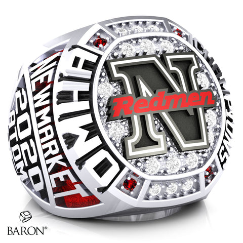 Newmarket Redmen Championship Ring - Design 3.2 (Association)