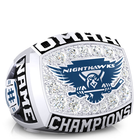 Northumberland nighthawks - minor midget - OMHA Ring - Design 1.1