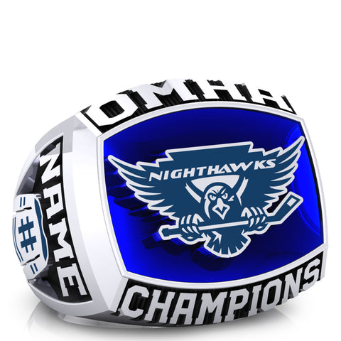 Northumberland nighthawks - minor midget - OMHA Ring - Design 1.2