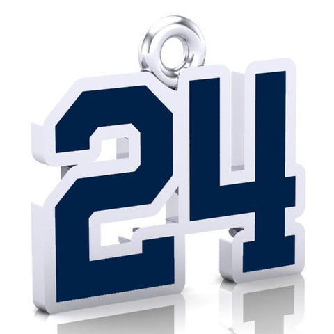 Edmonton Seahawks Number Charm (8mm x 10mm (per character))