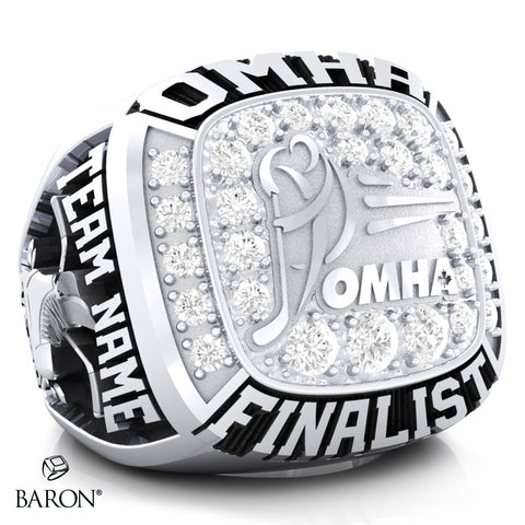 Championship OMHA  Ring with Cubics - Design 5.1 (Finalist)