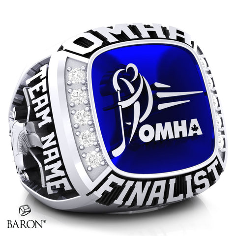 Championship OMHA  Ring with Glass Enamel - Design 5.2 (Finalist)