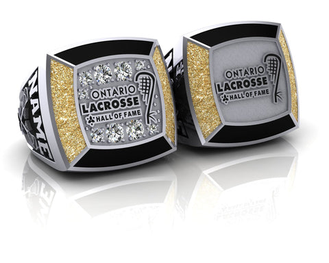 Ontario Lacrosse Hall of Fame Ring